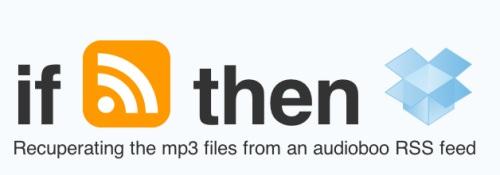 Ifttt Audioboo Dropbox
