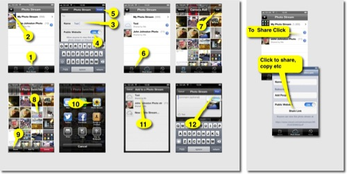 How to Photo Stream 500