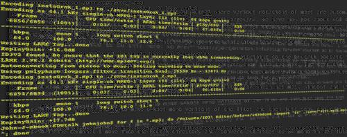 Lame Encoding