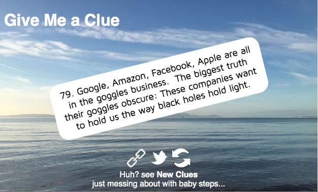 Give me a Clue Screenshot