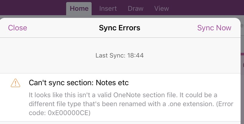 sync problem