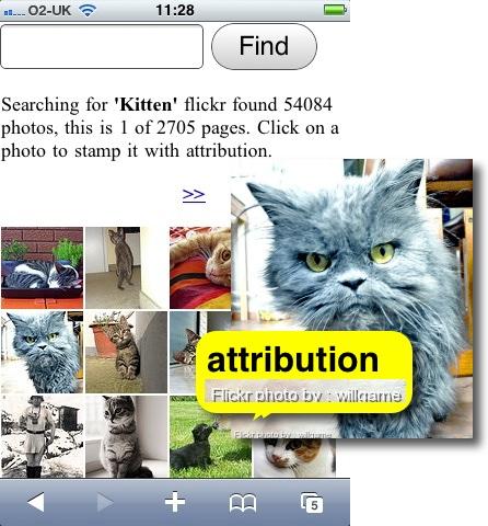 Flickr cc attribution