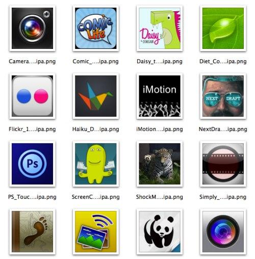 iOS Icon Extraction |