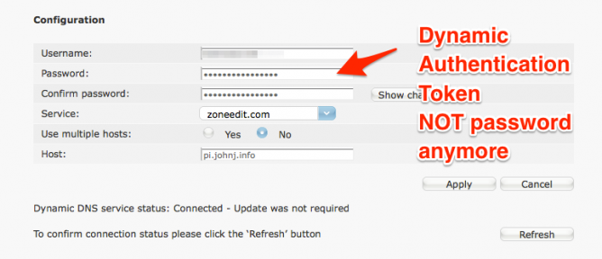 ZoneEdit Dynamic DNS Fix |
