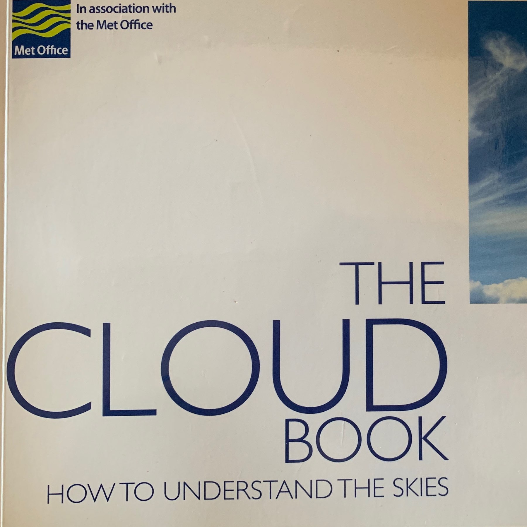 cover of book, the cloud book
