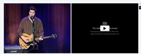 Flickr Live Photo Problem