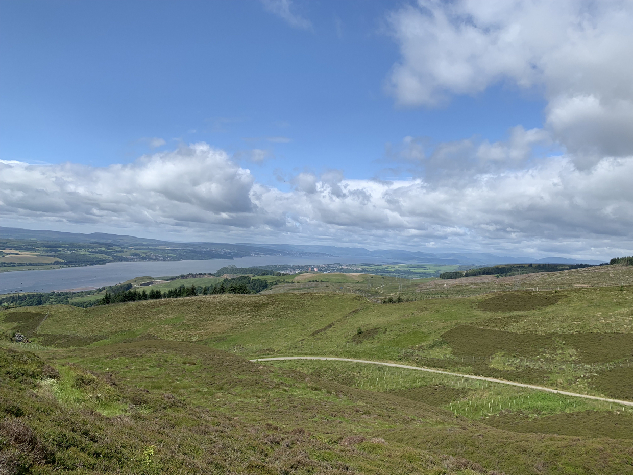 View Down the Clyde from Kilpatrick Hills