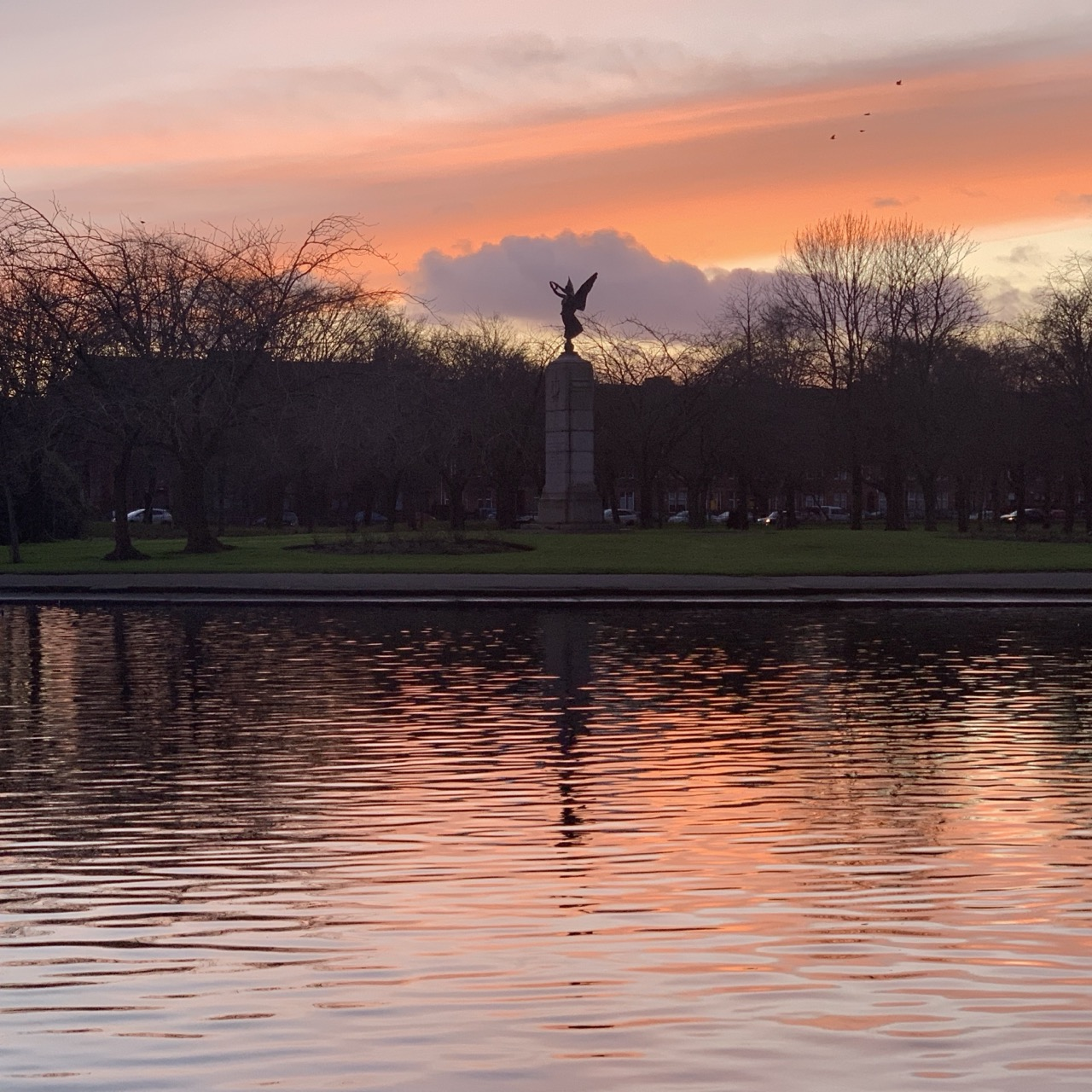 Victoria Park Sunset