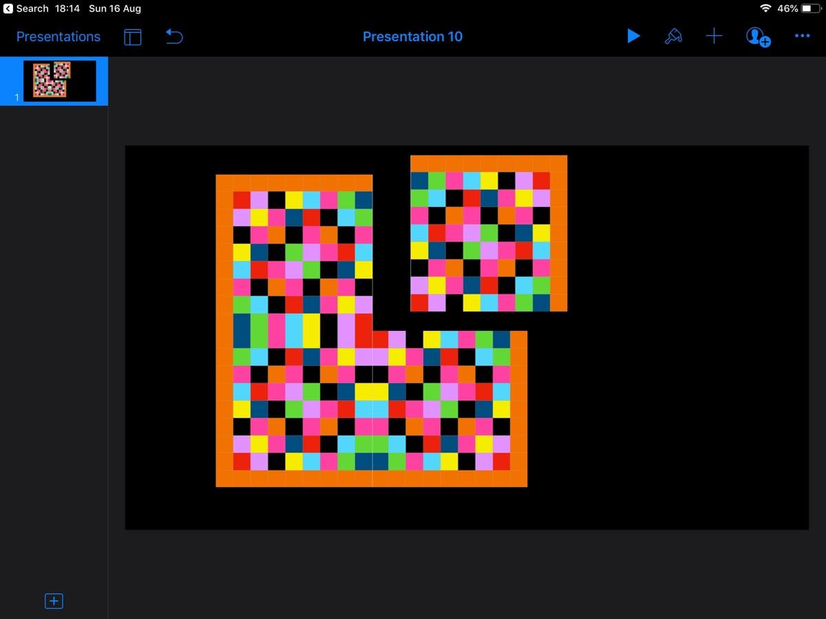 Align graphics