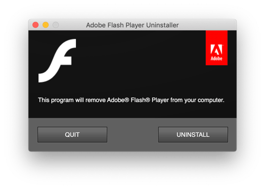 Flash Uninstaller